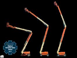 Platforma pentru lucru la inaltime (nacela) JLG - 1250 AJP