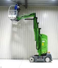 Platforma pentru lucru la inaltime verticala, electrica, JLG - Toucan 1100