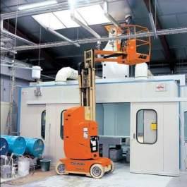 Platforma pentru lucru la inaltime tip verticala, electrica,model JLG - Toucan 861